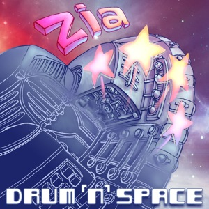Zia drumnspace (microtonal music album cover)